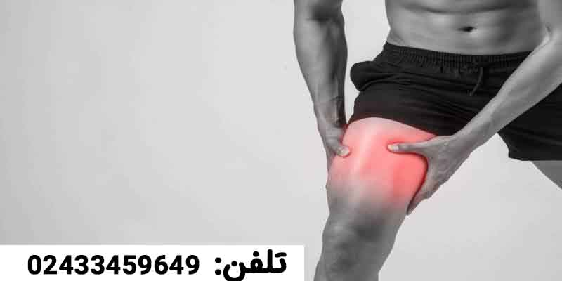 احساس درد در جلوی زانو