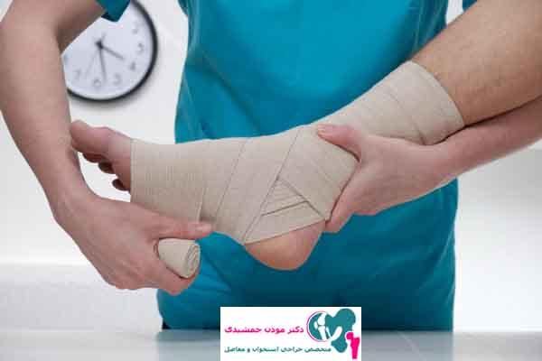 آسیب به بخش های مختلف پا در ورزش